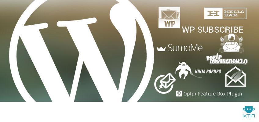 10 plugins en WordPress para capturar emails - Ixtin.agency